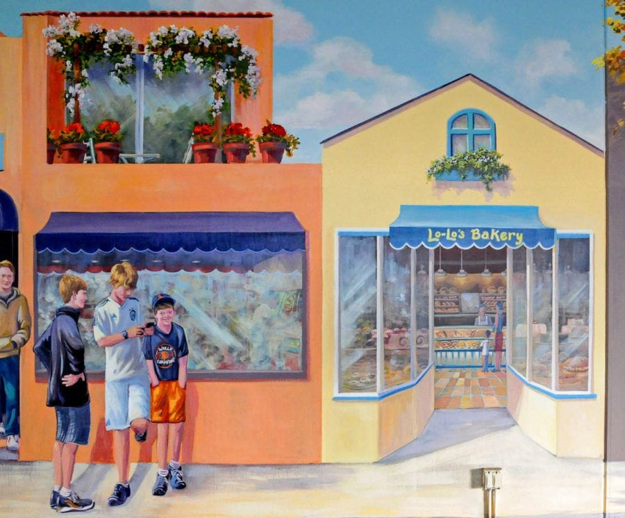 Downtown Bakery Mural