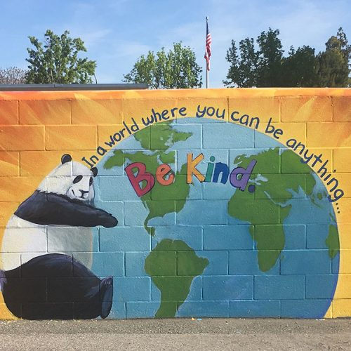 Be Kind Mural