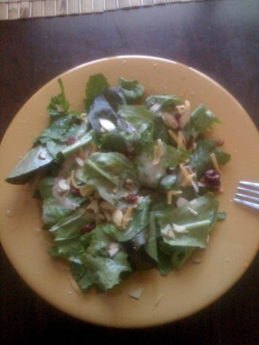 The First Salad!