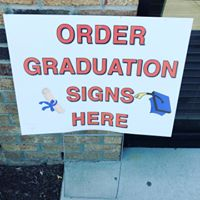 Order Graduation Sign