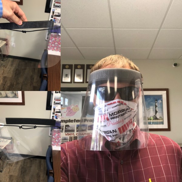 Face Shield with Accessories