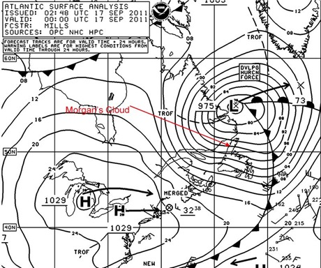 The Danger Of Extra Tropical Storms To Cruising Sailboats