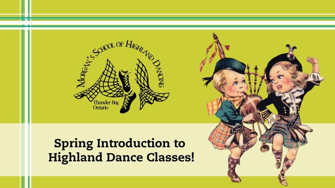 Intro to highland dance, Morgan's School 2017