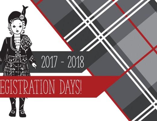 Registration Days   Morgan's School of Highland Dance!