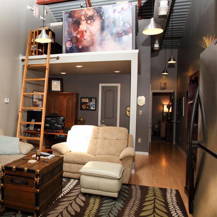 Second Floor OneBedroom  Richwood Lofts  MorgantownModern
