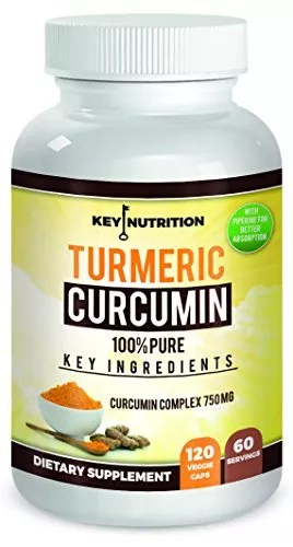 Turmeric Curcumin With Piperine Extract — 1500 Mg Serving 2 Month Supply – 120 Veggie Capsules – High Absorption Formula With 95% Standardized Curcuminoids And More –