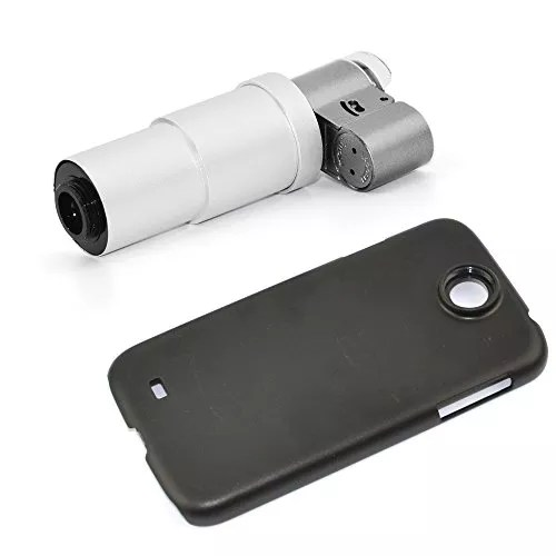 Apexel 200X Zoom Magnify Microscope Lens with LED & UV Light for Samsung Galaxy S4 I9500