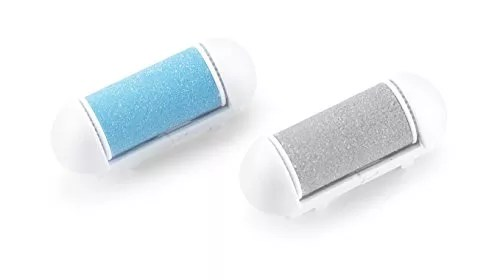 Personal Pedi Callus Remover By Laruant, Replacement Rollers- Set of Two, Includes 1 Buffing Roller & 1 Remover Roller