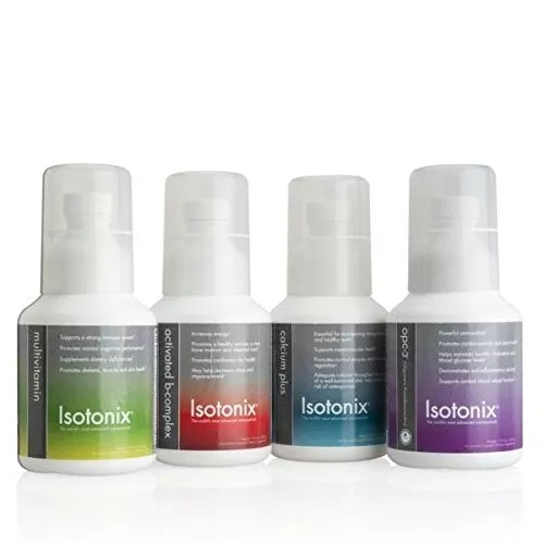 Isotonix Daily Essentials Kit OPC 3 106oz With Iron
