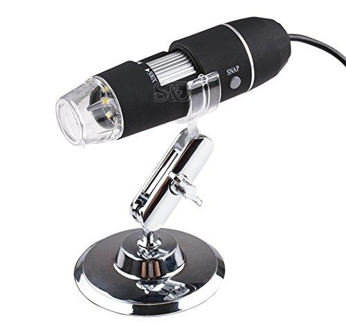 50X-500X USB Digital Microscope 8 LED Endoscope Photo Video Camera Magnifier