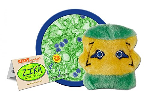 GIANTmicrobes Zika (Zika Virus) Plush Toy