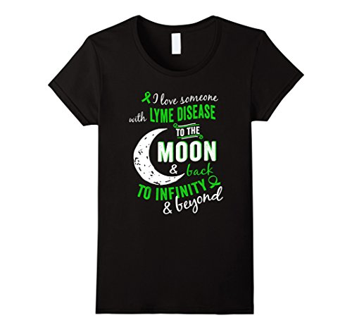 Women's Lyme Disease Shirts – Lyme Disease Awareness Shirt For Women XL Black