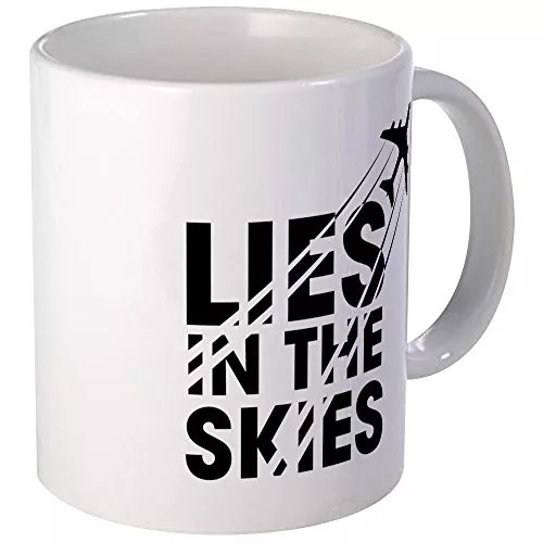 CafePress – Chemtrails – Unique Coffee Mug, 11oz Coffee Cup