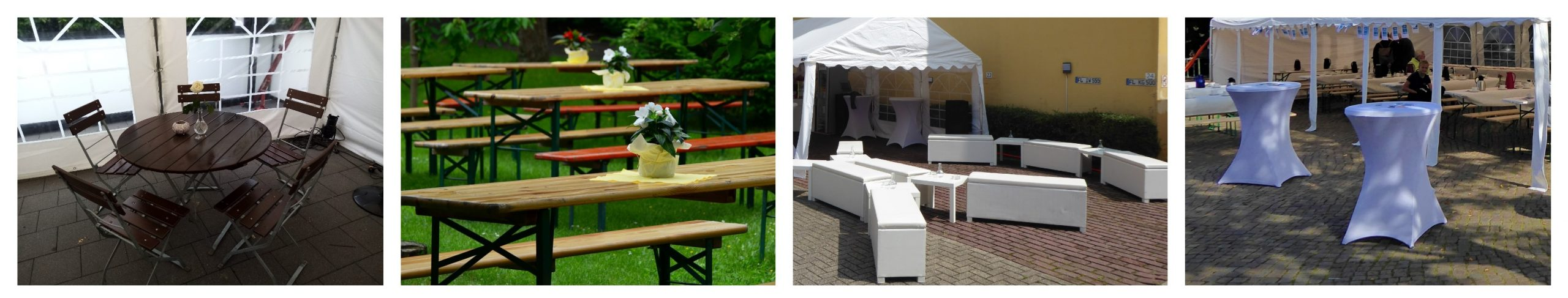 Rent beer tent set