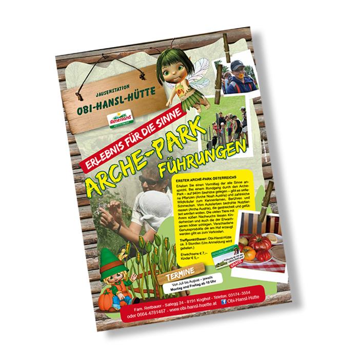Plakat für Achre-Park