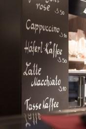 Gandl Café Bäckerei - Fensterbeklebung