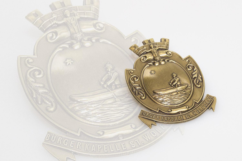 Emblem für die Bürgerkappele St.Wolfgang