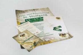 Gestaltung Plakate, Flyer, Briefpapier und Getränkemarken - MORI Werbung & Fotografie