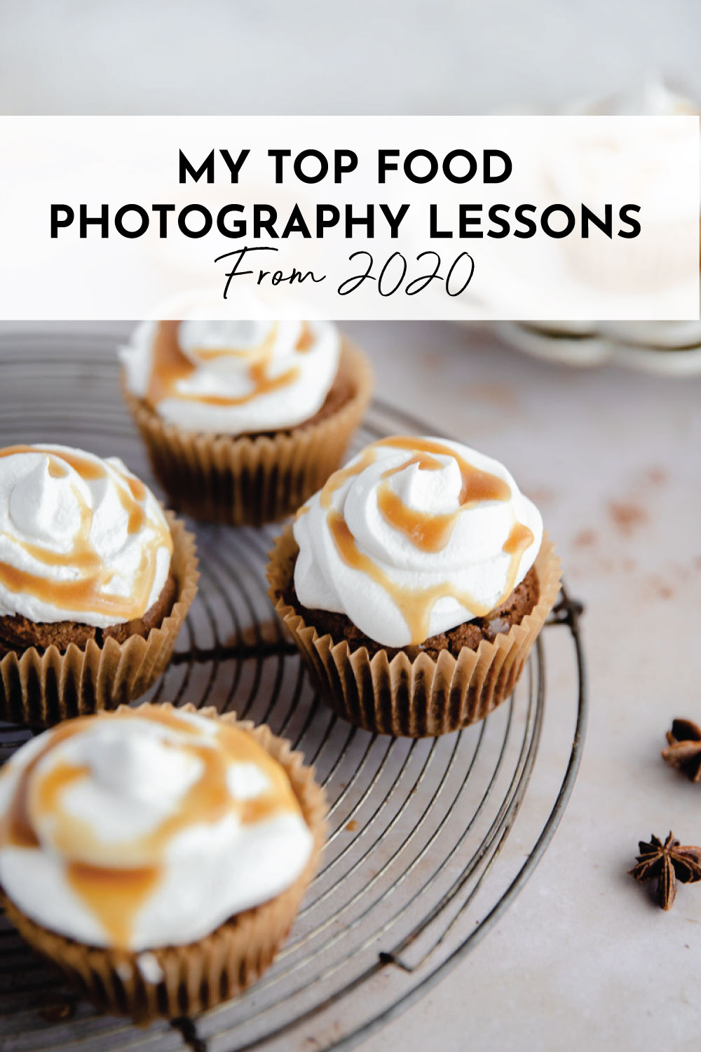 My biggest food photography lessons from the past year.