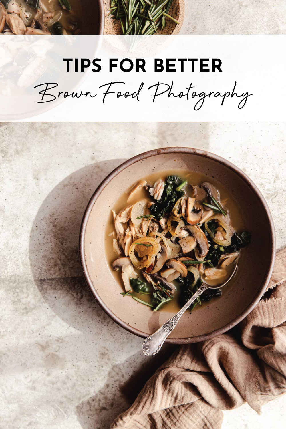 Tips for Better Brown Food Photography