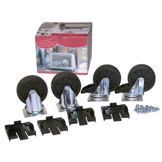 Kit roulettes pour cage de transport ARGO
