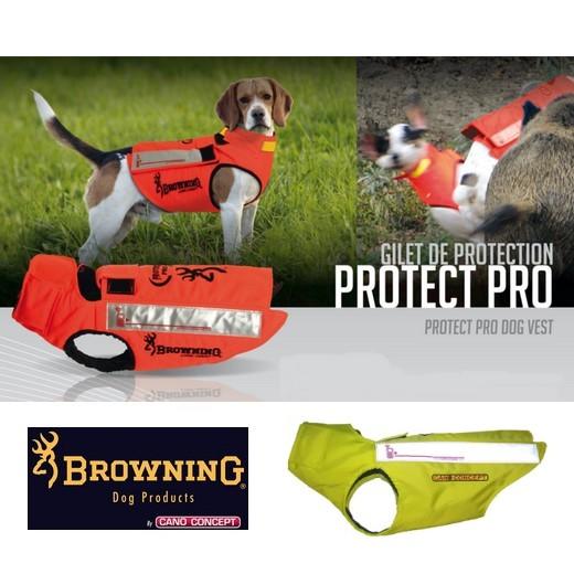 Gilet protection pour chiens, en Kevlar Jaune - PROTECT PRO - Cano-Concept