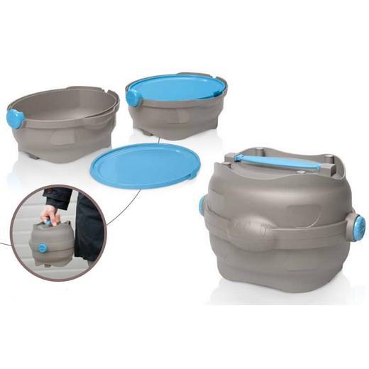 Kit de voyage pour eau et croquettes - Easy Go (pour chiens et chats)