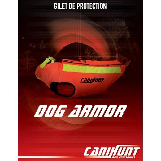 Canihunt Dog Armor, gilet de protection pour chien de chasse