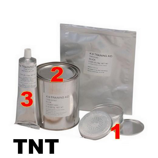 Simulants d'entrainement à la détection explosif - TNT - XM K-9