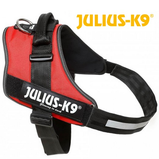 Harnais IDC POWER Julius K9 - ROUGE