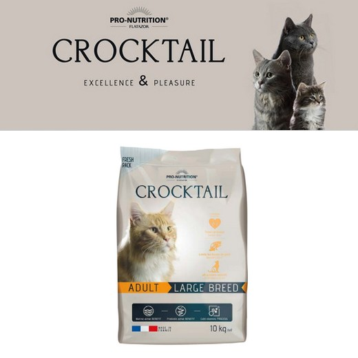Flatazor Crocktail Adulte Large Breed pour chat