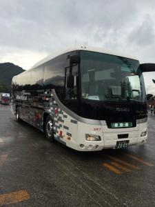 日本交通の新しいバス