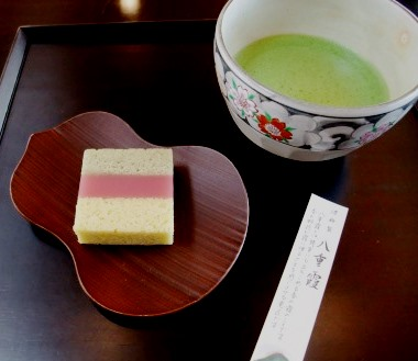 Funtastic Spring sweet and matcha @ Toraya cafe Kyoto