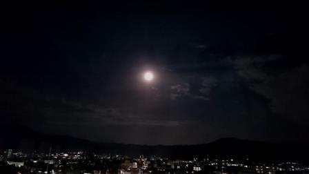 2015年最後の満月前夜 京都出町柳
