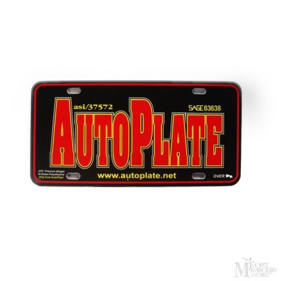 Metal License Plate
