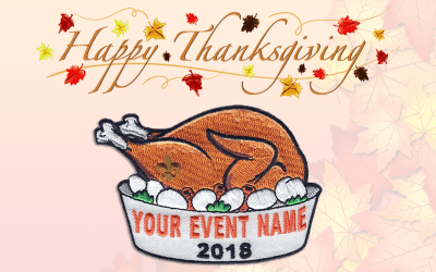 Happy Thanksgiving from The Moritz Embroidery Works