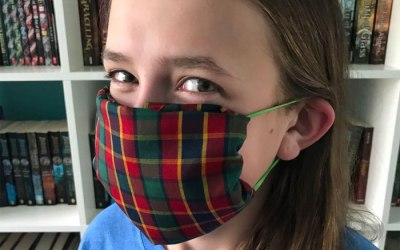 How to Make a No-Sew Face Covering from a Scout Neckerchief