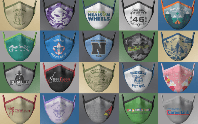 Custom Cloth Face Masks with Your Logo!
