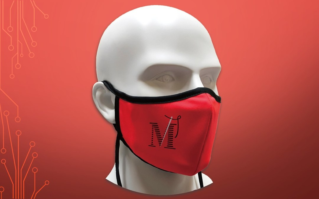 NEW Sports Face Masks from The Moritz Embroidery Works