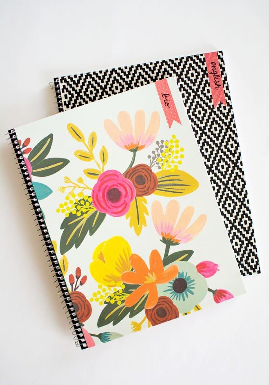 10 Creative Amp Easy Ways To Decorate School Notebooks