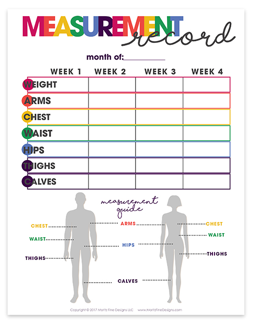 free weight loss journal printables