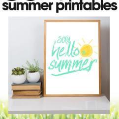 Kitchen Design Planner Pantry Shelves Summer Decor Printable | Free Printables Day #28 ...