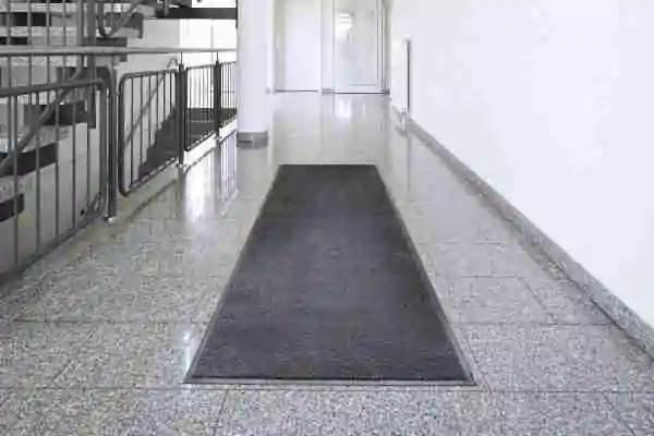 Morland Access Duo long door mat on a landing