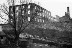 The Hembrigg Mill after the fire