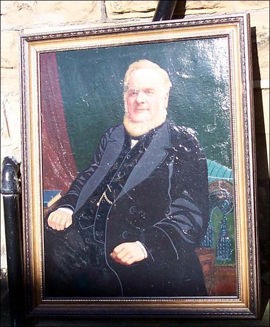 Portrait of John Brumfitt