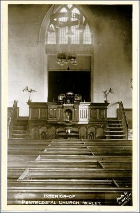 The old Nazarene Pentecostal Church, Albion St., Morley