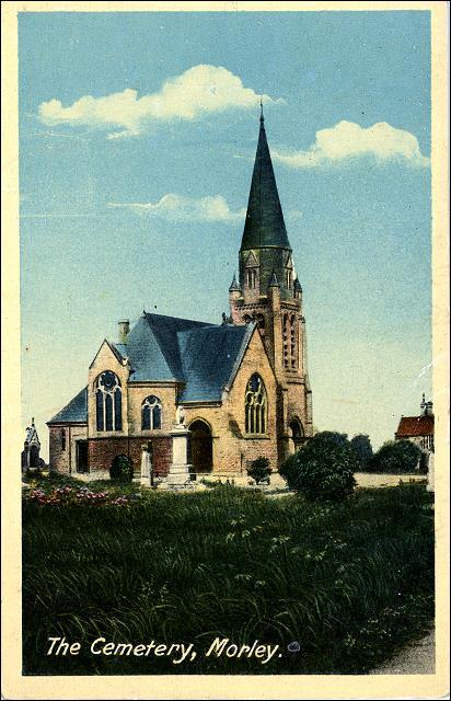 Morley Cemetery Chapel, Bruntcliffe Lane