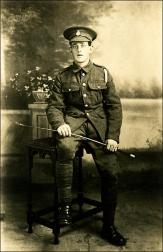 Private Maurice Butterfield Tetley, Royal Veterinary Corps