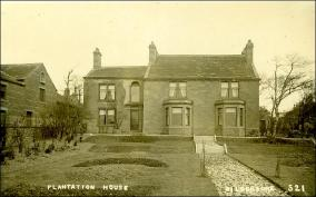 Plantation House. Wakefield Road, Gildersome