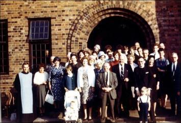 Drighlington Church outing to Kelham